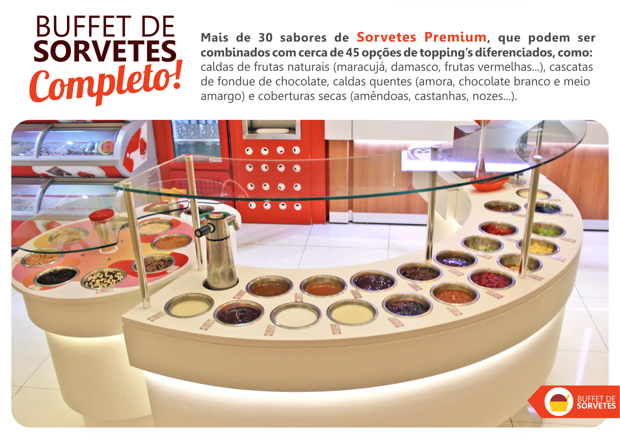 BUFFET DE SORVETES - ICEMELLOW